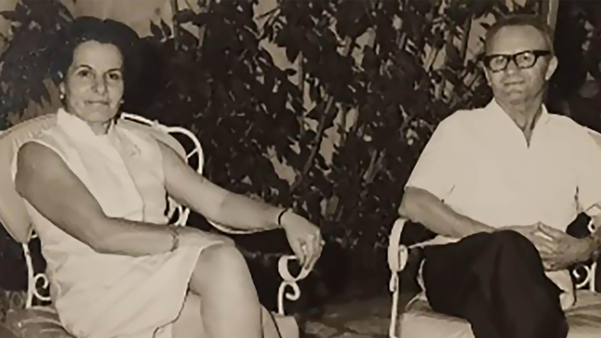 Mario Cavagliano Broglia y Dirce Strozzi Cavagliano